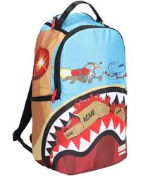 """Sprayground Rucksack Aus Nyloncanvas """"coyote Shark"""" - Mehrfarbig"""