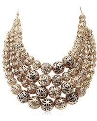 Rosantica - Innocenza Multi Strand Necklace - Lyst