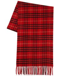 Burberry - Giant Plaid Cashmere Scarf - Lyst