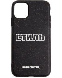 Heron Preston Iphone 11 Pro ケース - ブラック