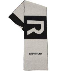 LUISAVIAROMA - Lvr ロゴ カシミアマフラー - Lyst