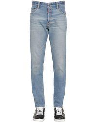 DSquared² - Jeans De Denim De Algodón 16.5cm - Lyst