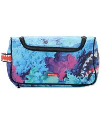 Sprayground Color Drip Toiletry Bag - Blue