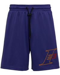 Reebok I3 Mesh Shorts - Purple