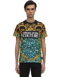 Versace Jeans Couture - ロゴプリントtシャツ - Lyst