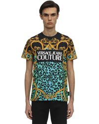 Versace Jeans Couture ロゴプリントtシャツ - マルチカラー