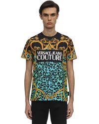 Versace Jeans - ロゴプリントtシャツ - Lyst