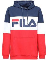 Fila - カラーブロックスェットフーディー - Lyst