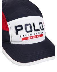 Polo Ralph Lauren Kappe Mit P1-logo - Blau