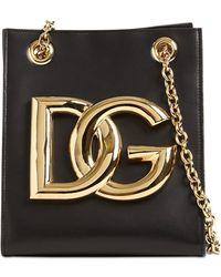 Dolce & Gabbana - Dg 3.5 レザーショルダーバッグ - Lyst