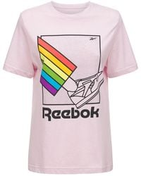 Reebok Pride Graphic Tシャツ - ピンク