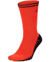 Nike Psg X Jordan Crew Socks - Rot