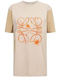 Loewe - Boyfriend Fit Compact ジャージーtシャツ - Lyst