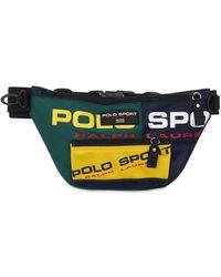 Polo Ralph Lauren Polo Sport ナイロンベルトバッグ - ブルー