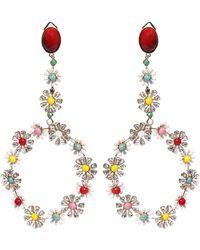 Elie Saab - Big Creole Earrings - Lyst