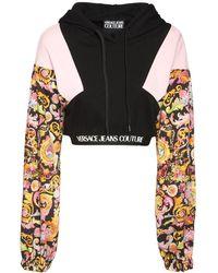 Versace Jeans Couture Свитшот С Капюшоном - Черный