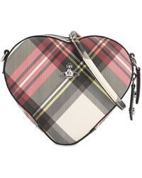 Vivienne Westwood - Derby Heart New Exhibition Cross-body Bag - Lyst