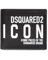 DSquared² Icon Bi-fold Wallet - Black