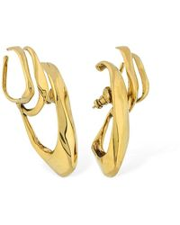 Alexander McQueen Ear Cuff Triple - Metálico