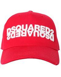 DSquared² Бейсбольная Кепка С Логотипом - Красный