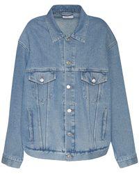 Balenciaga - Куртка Из Хлопкового Денима - Lyst