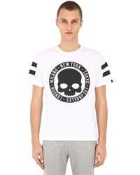 "Hydrogen T-shirt ""circle Cities"" En Coton - Blanc"