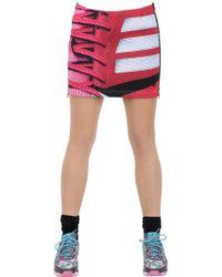 adidas Originals - Printed Neoprene Skirt - Lyst