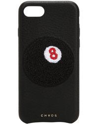 Chaos - 8-ball Leather Iphone 7/8 Cover - Lyst
