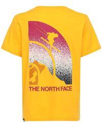 "The North Face T-shirt Aus Baumwolle ""maven"" - Gelb"