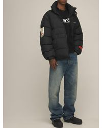 Heron Preston Куртка Из Нейлона - Черный