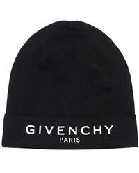 Givenchy Шапка Из Хлопка И Кашемира - Черный
