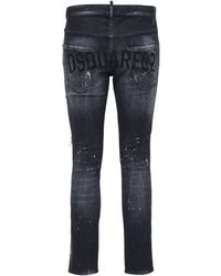 DSquared² 16.5cm Jeans Aus Stretch-denim - Schwarz