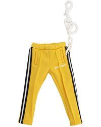 Palm Angels Schlüsselanhänger mit Jogginghose - Gelb