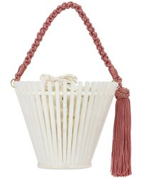 Montunas Trellis Lirio Acetate Bucket Bag - Multicolor