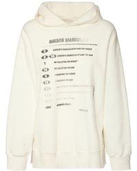 MM6 by Maison Martin Margiela - コットンジャージースウェットフーディー - Lyst