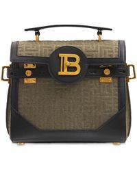 Balmain Bbuzz 23 キャンバスバッグ - ブラック