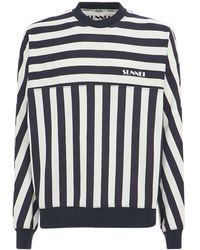 Sunnei コットンフリーススウェットシャツ - マルチカラー