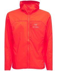 Arc'teryx Куртка Из Нейлона - Красный