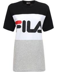 Fila コットンジャージーtシャツ - マルチカラー