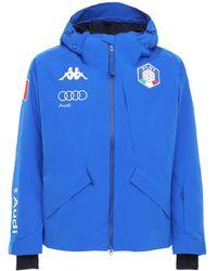 Kappa Fisi Italian Ski Team ジャケット - ブルー