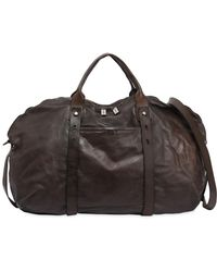 Numero 10 - Okinawa Leather Weekender Bag - Lyst