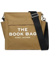 Marc Jacobs The Book Bag コットンショルダーバッグ - グリーン