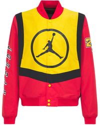 Nike Куртка-босбер Jordan - Желтый