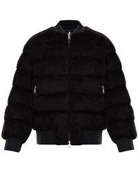 Moncler - Куртка Из Искусственного Меха - Lyst