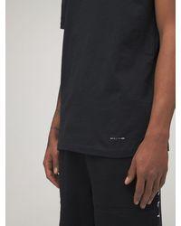 1017 ALYX 9SM コットンtシャツ 3枚パック - ブラック