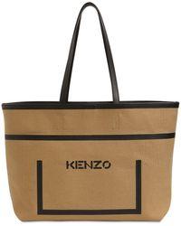 KENZO - コットンキャンバストートバッグ - Lyst