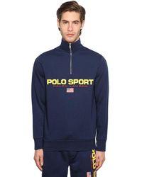 Polo Ralph Lauren Sweatshirt Mit Logodruck - Blau