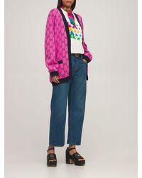Gucci コットンジャージーtシャツ - マルチカラー