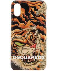 DSquared² エコレザー I Phone X ケース - マルチカラー