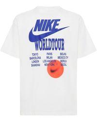 Nike World Tour Tシャツ - ホワイト